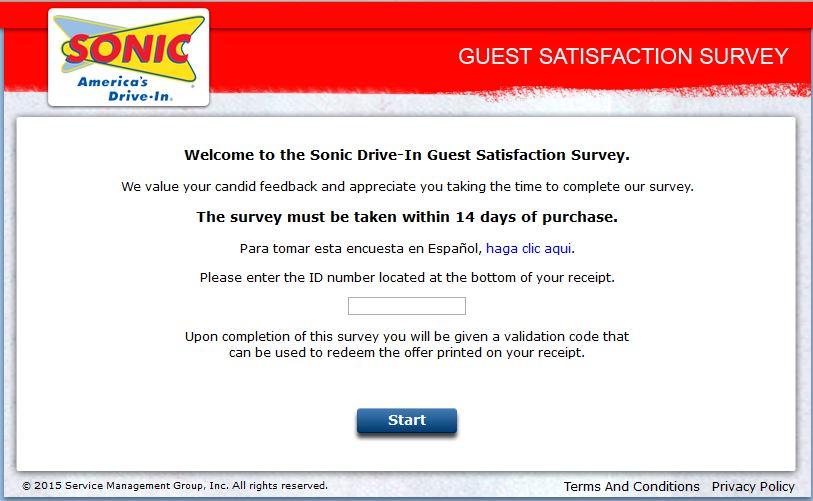 Talk to Sonic website www.talktosonic.com