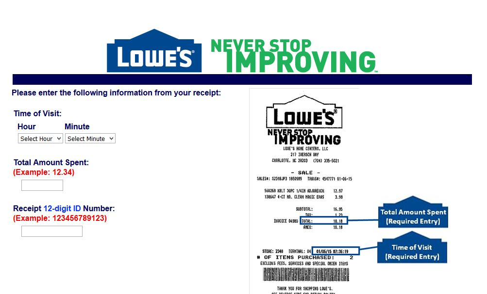 Lowes Store Lowes Store Department Numbers - Lowes online order invoice number