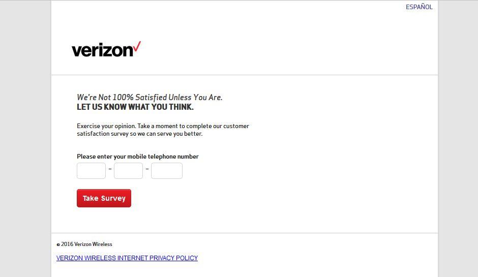 """""""verizon wireless survey verizon wireless customer survey verizon survey www.verizonwirelesssurvey.com"""""""
