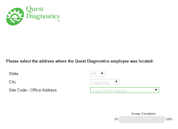 quest diagnostics feedback second page