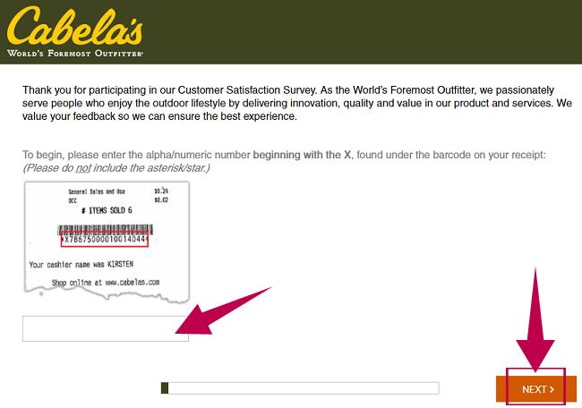 Cabelas Survey Guide