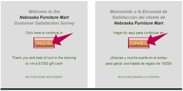 Nebraska Furniture Mart Survey At Happy