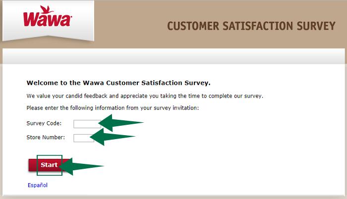 MyWawaVisit Customer Satisfaction Survey