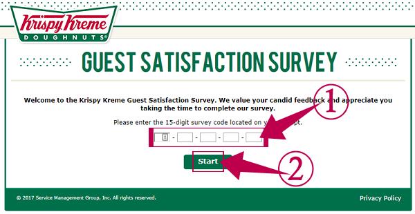 Krispy Kreme Listens Survey
