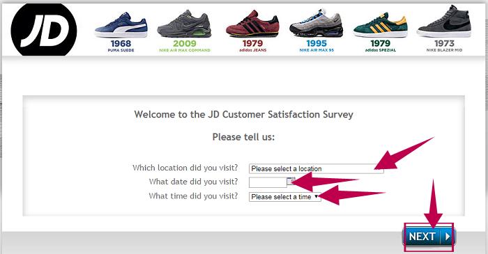 JD Sports Survey Without Receipt