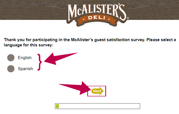 McAlister's Survey Guide Step 1