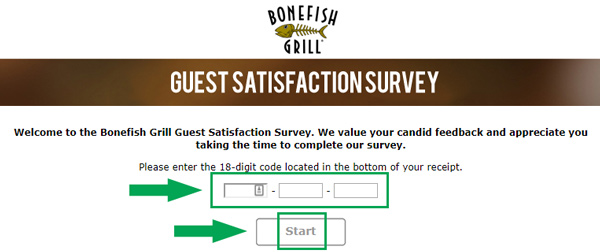 step one of bone fishgrill survey